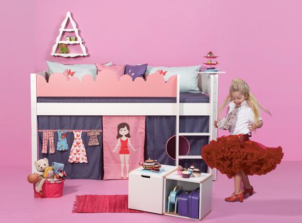 Etagenbett Puppe : Manis h pfosten für halbhochbett und etagenbett inkl. gerader leiter