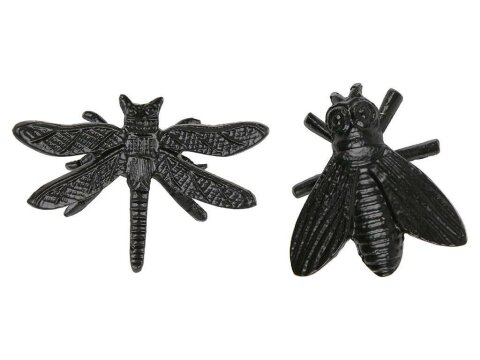 Woood Chris Wanddekoration Insekten Set (2er-Set)