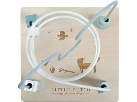 Little Dutch Activity Spielwürfel, Adventure Blue