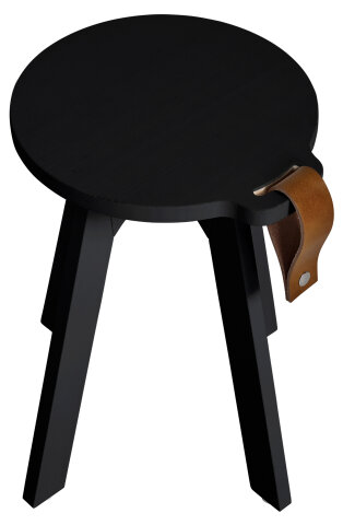 Karup Design COUNTRY Hocker Kiefer Schwarz