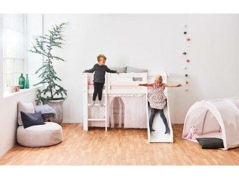 Hoppekids Winter Wonderland VorhangTüll für Spielbett / Etagenbett70x160 cm