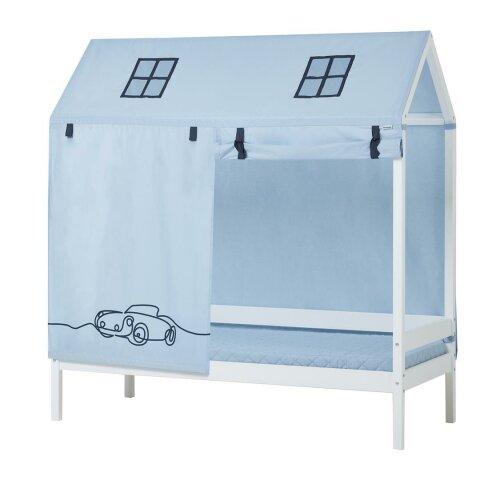 Hoppekids Hausbett Vorhang Cars 70x160 cm