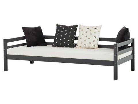 Hoppekids Basic My Color Sofabett 90x200 cm Smoked Pearl