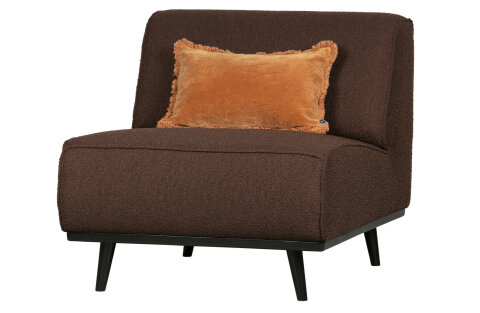 Statement Sessel Boucle Coffee