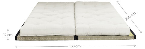 Karup Design CHICO Loungesofa  inkl. Kissen Petrol Blue
