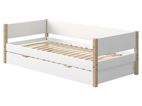 Flexa White / Flexa Nor Hintere Absturzsicherung Weiß für 190cm Bett