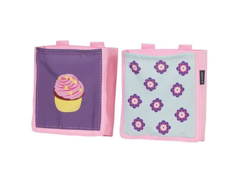 Manis-h Betttaschen 2er-Set Cup Cake Girl