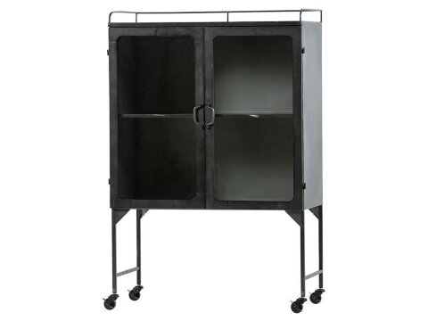 BePureHome Talent XL Metallschrank Antik Grau