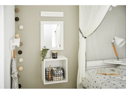 Lifetime Kidsrooms Lichterkette mit Baumwollkugeln Sand Colours