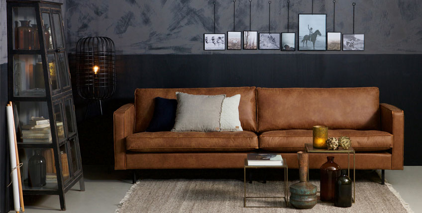 Sessel in Industrial und Retro Style