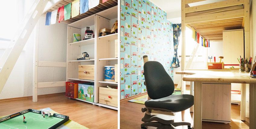 Tipps zum Einrichten kleiner Kinderzimmer