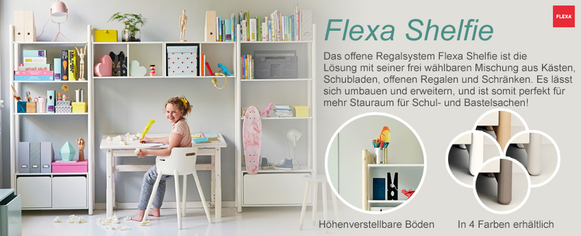 Flexa Shelfie Regalsystem